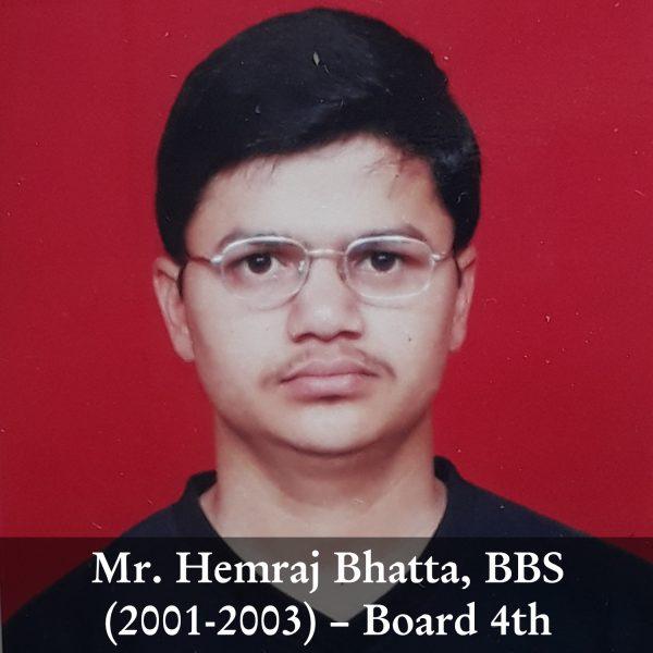 Hemraj Bhatta