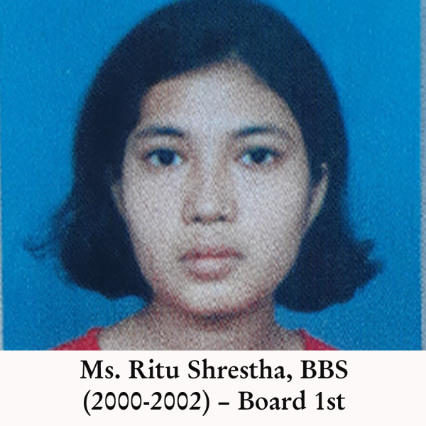 Ritu Shrestha