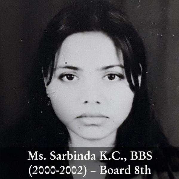 Sarbinda K.C.